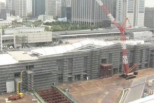 駅周辺の再開発